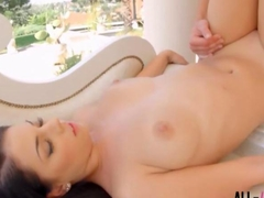 Suzy Fox gets pussy dripping with jizz