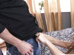 Nicole Gives Her Bush For Fuck
