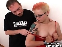 Hot Topic Twat Fucked and Cummed On!