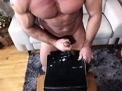 Big dick gay blowjob and facial