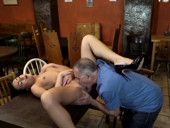 DADDY4K. Hottie Anna Rose let old lover stretch her wet...