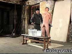 Free video porno young gay Poor Leo can't escape as the beau