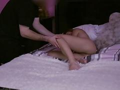 Hollie Macks pussy fucked by a big cock
