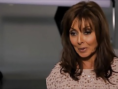Carol Vorderman stylish MILF