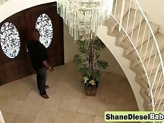 Tight asshole stretched by a monster cocked stud Shane Diesel