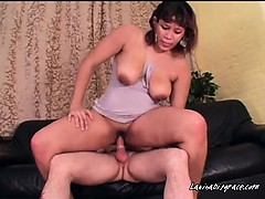 Chesty Latina Bunny Gets Her Pussy Ruined