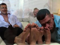 Young gay porn boys vids Ricky Worships Johnny & Joey's Feet
