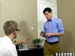 Blond twink Jason Valencia gets naughty with Carmen Delano