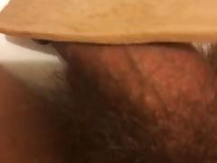 Spanking my little cock