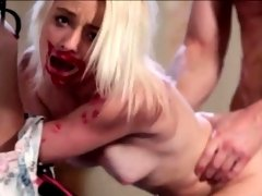 Skanky teen Maddy Rose ripped real hard