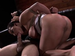 Breathtaking gal enjoys beinng manhandled and drilled coarse