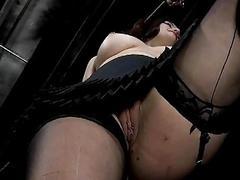 Kinky woman have creepy bondage sex with master BDSM porn
