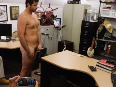 Bear masturbates on cam