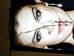 Lauren Cohan Cum Tribute (Slo mo)