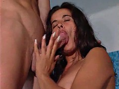 hungary babe gets lifeguard fucked