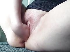 nice bbw cunt masturbation fisting