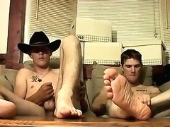 Gay solo piss fetish galleries Cowboy Feet And Dick Stroking