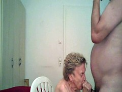 My grandma prostate massage fucked and in mouth whore
