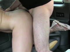 Hot customers ass gets smashed hard