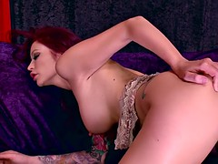 perfect redhead monique alexander rides the black cock of her dreams