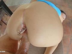 Meg Magic presented in rough anal scene gonzo style by Ass Traffic