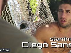 Men.com - Diego Sans and Toby Springs - Thoroughbred Part 2 - Drill My Hole - Trailer preview