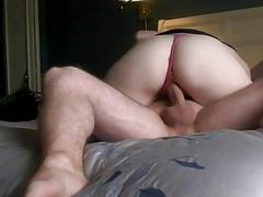 Hot amateur GF sucks and fucks with creampie