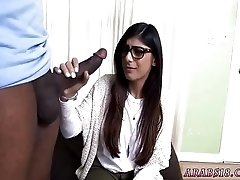 Teen double blowjob and college rides dildo first time