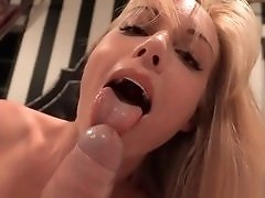 Slutty Blonde Seduces her Neighbor