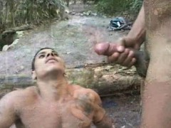 Latino Gays Bareback Fucking Outdoor