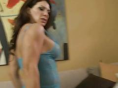 Stepmom loves to pleasure her gorgeous little boys fat cock