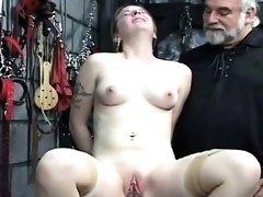 Rough lesbian thraldom in amateur scenes along hotties