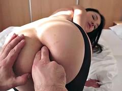 European babe got her nice ass hard tamping