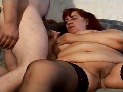 Dreckige Versaute Hausfrau