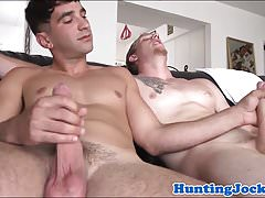 Sportive muscle jock pulled and assfucked