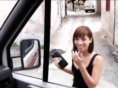 Real amateur teen Tina Hot hitchhikes and fucks a stranger