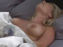 Mature Milf morning wake up rub