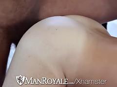 Raunchy butt pirate rides a stiff schlong like a pro