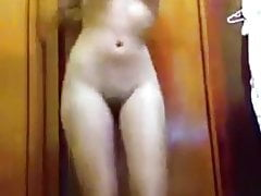 Brazilian Blonde Amateur Dancing