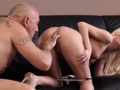Teen banged Horny ash-blonde wants to attempt someone