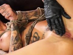 Enjoyable vixen takes pleasure and pang in bondage delight