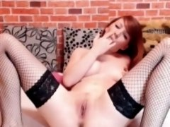 Redhead Toys Her Ass