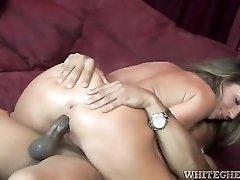 Richelle Ryan interracial hardcore sex in high heels