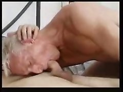 Mature gay gets furious session.