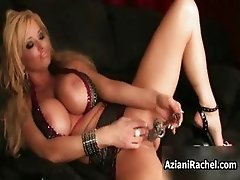 Hot woman with big boobs gets
