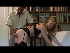 British slut Tanya Tate gets fucked in a posh house