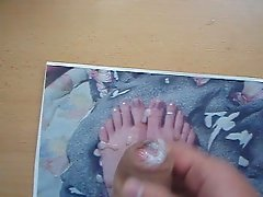 Cum to pic feet