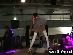 Gorgeous Tanja Causes 100 Erections on stage