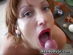 Fine ass hot mom licking fat cock part5