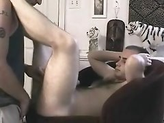 Gay - Str8 Guy gets Sucked and Fucked